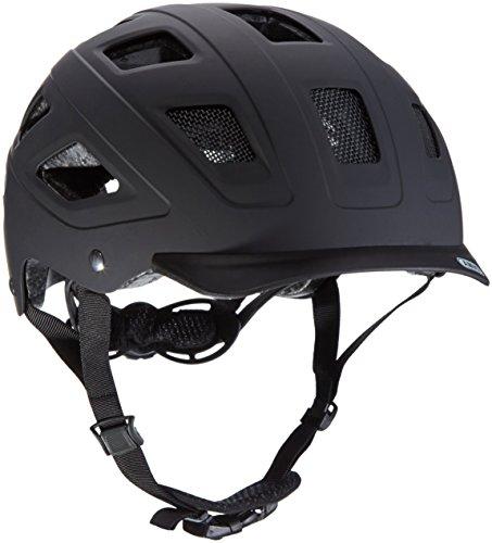 Abus Erwachsene Fahrradhelm Hyban, velvet black, 52-58 cm, 37264-3